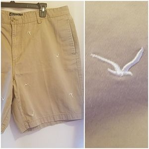 MEN'S BIRD PRINT SHORTS